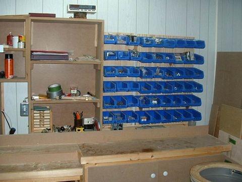 Atelier et outils - Rangement pour vis et clous ...
